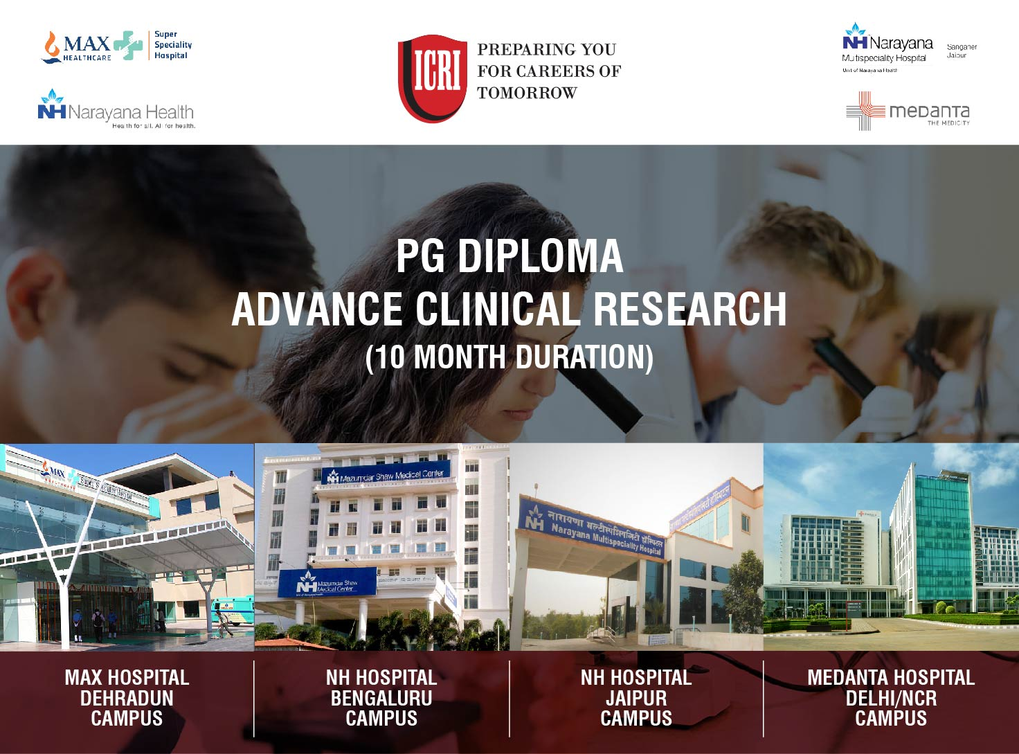 PG Diploma in Advanced Clinical Research